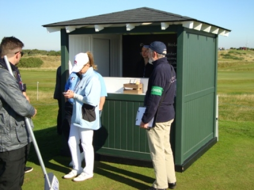 Alfred Dunhill Links Championship 2015 - On Course Catering Units